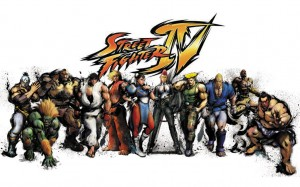 Super Street fighter IV characters background
