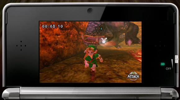 Legend of Zelda Nintendo 3DS game play