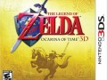 Zelda Ocarina of Time 3ds boxart