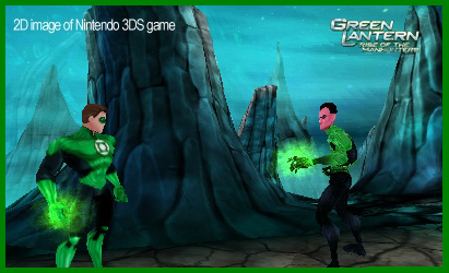 greenlantern 3DS graphics