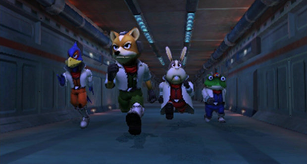starfox 64 3d gameplay