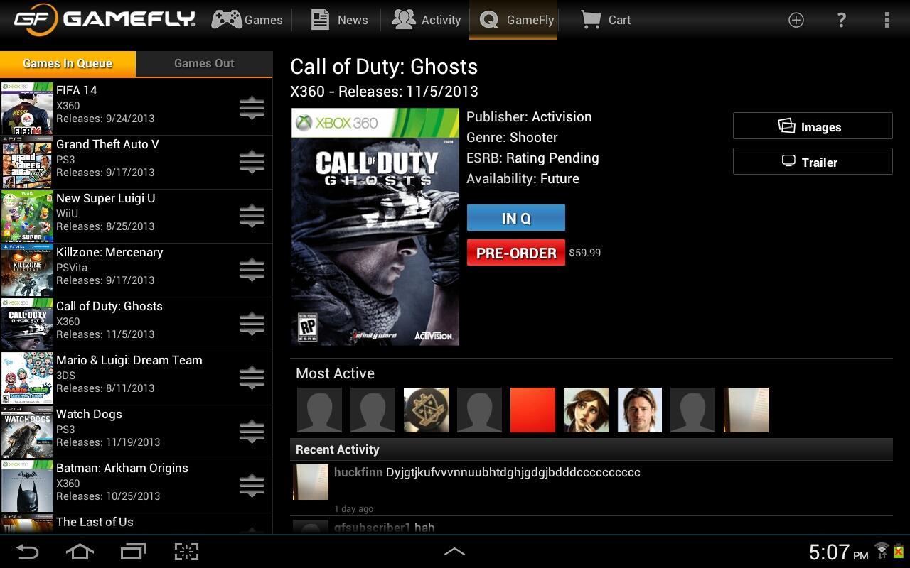 GameFly App