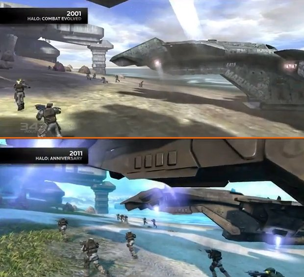Halo Anniversary new graphics