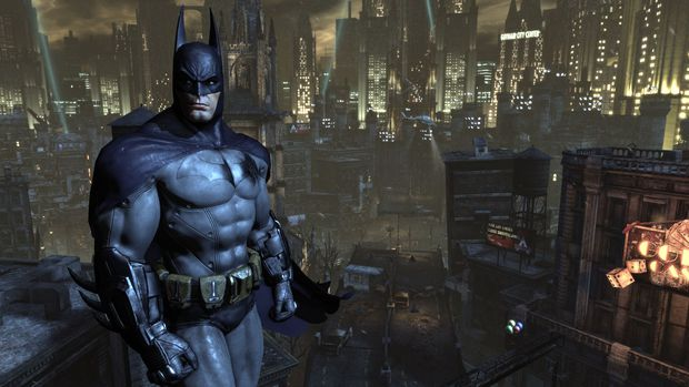 Arkham City view