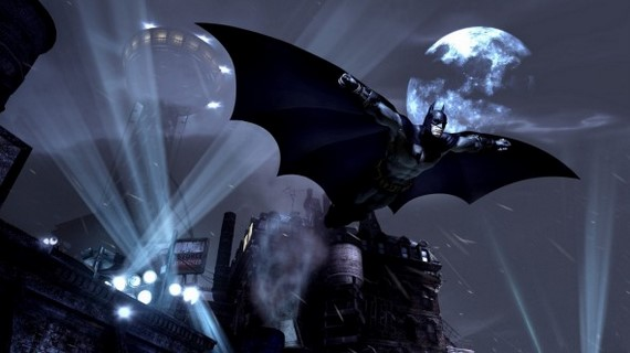 Batman-Arkham-City-Gliding