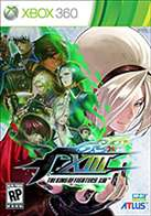 king of fighters 13 box art Xbox 360