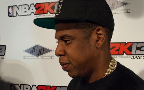 Jay Z executive produced NBA 2k13